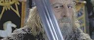 Theoden, in Meduseld - the 'Golden Hall'